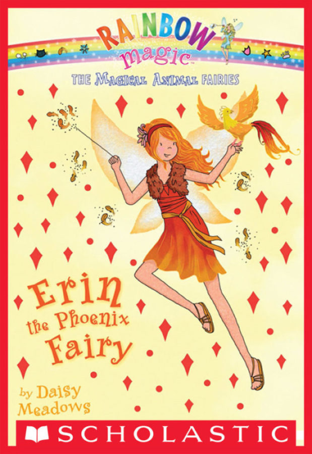 Daisy Meadows - Erin the Phoenix Fairy