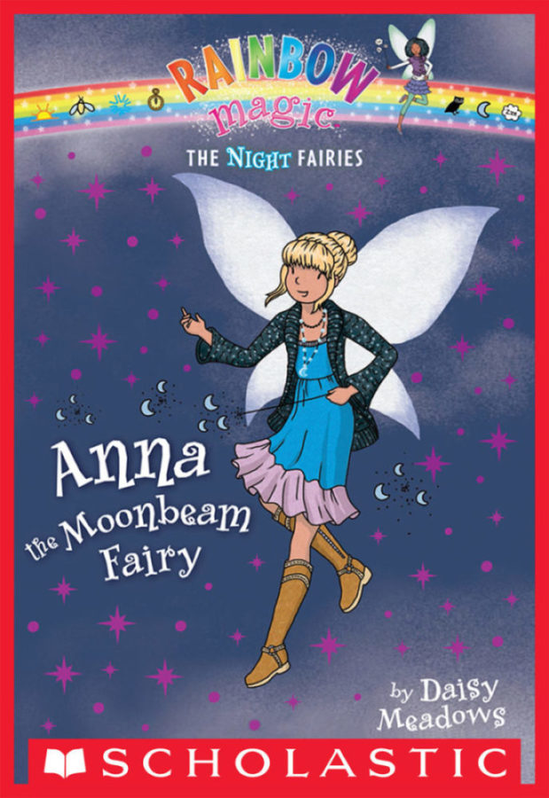 Daisy Meadows - Night Fairies, The #6: Anna the Moonbeam Fairy