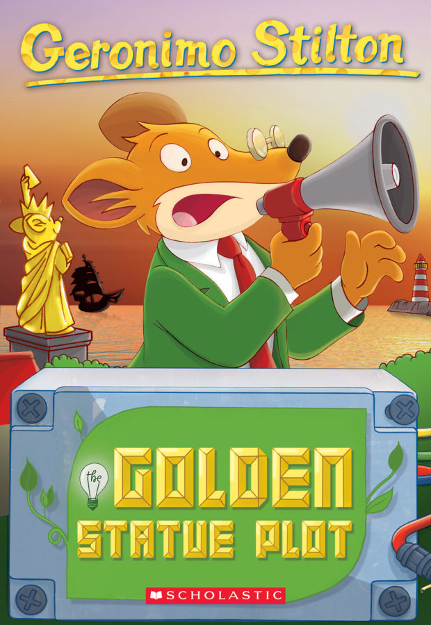 Geronimo Stilton - Geronimo Stilton #55: The Golden Statue Plot
