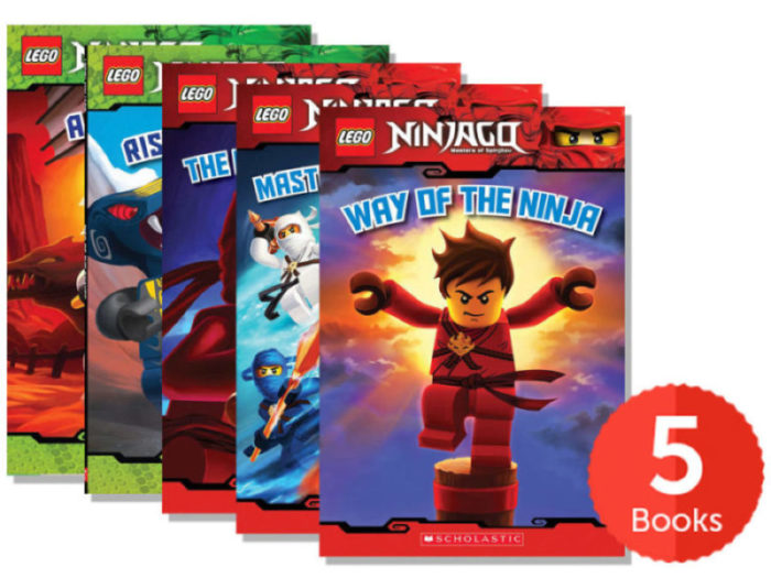 LEGO Ninjago Readers Pack (Books 1-5) by - Paperback Book