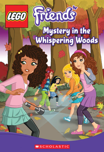 Cathy Hapka - Mystery in the Whispering Woods