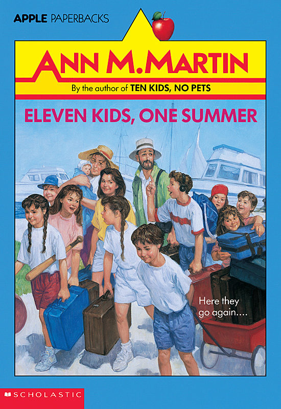 Ann M. Martin - Eleven Kids, One Summer