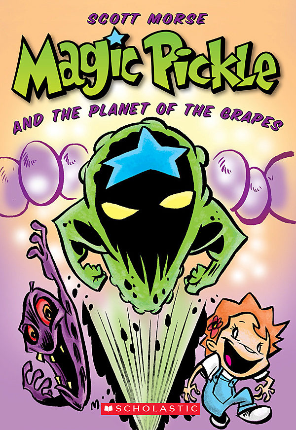 Scott Morse - Magic Pickle and the Planet of the Grapes