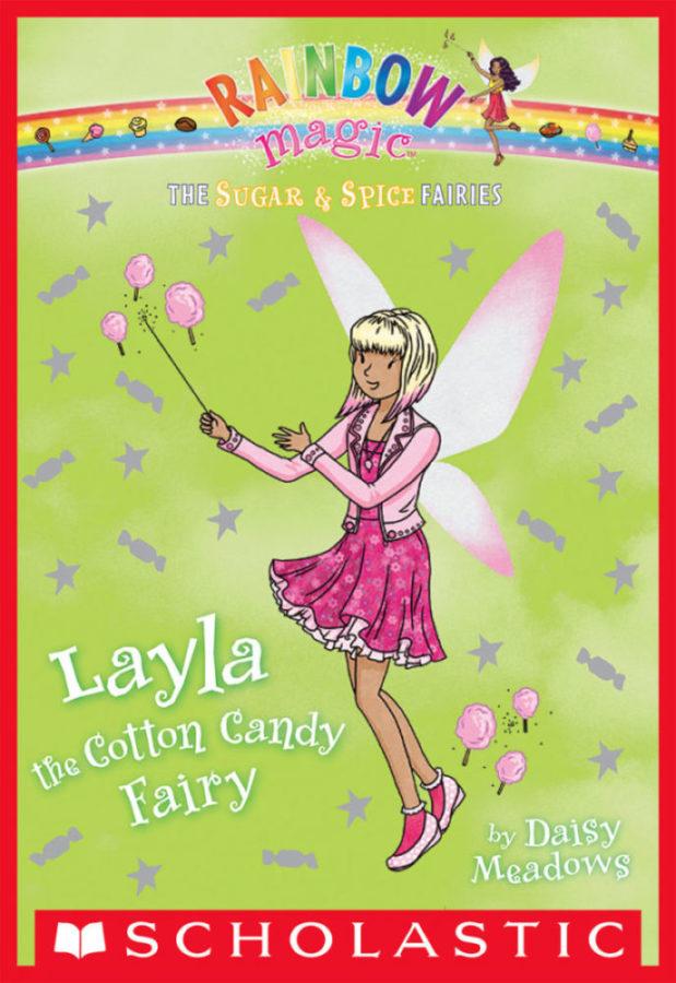 Daisy Meadows - Layla the Cotton Candy Fairy