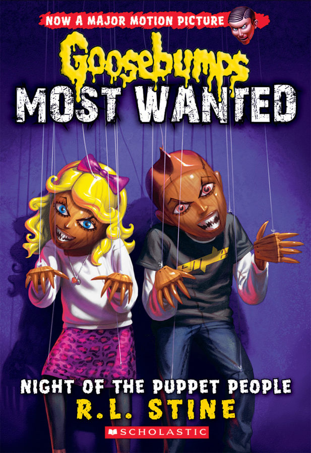 R. L. Stine - Goosebumps Most Wanted #8: Night of the Puppet People