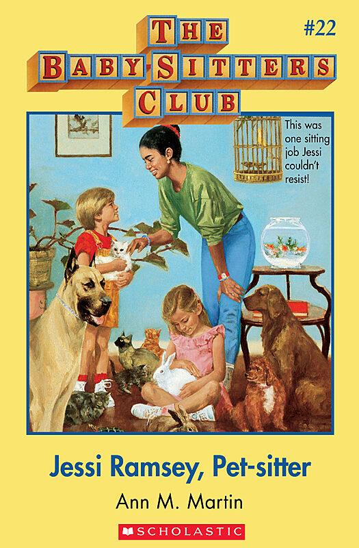 Ann M. Martin - BSC #22: Jessi Ramsey, Pet-Sitter
