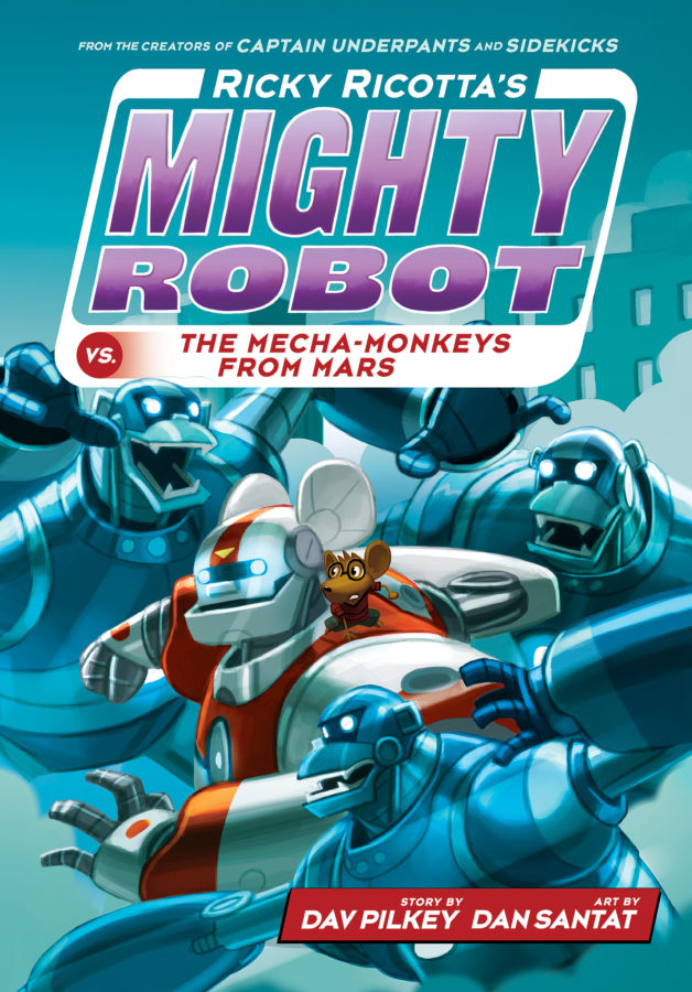 Dav Pilkey - Ricky Ricotta's Mighty Robot vs. the Mecha-Monkeys from Mars