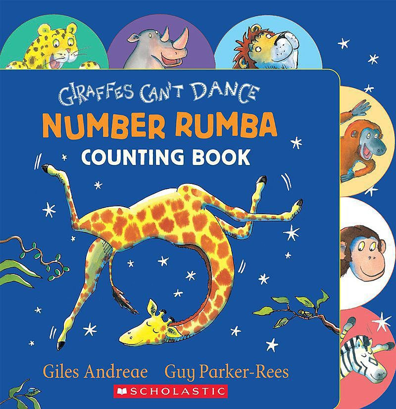 Giles Andreae - Giraffes Can't Dance: Number Rumba