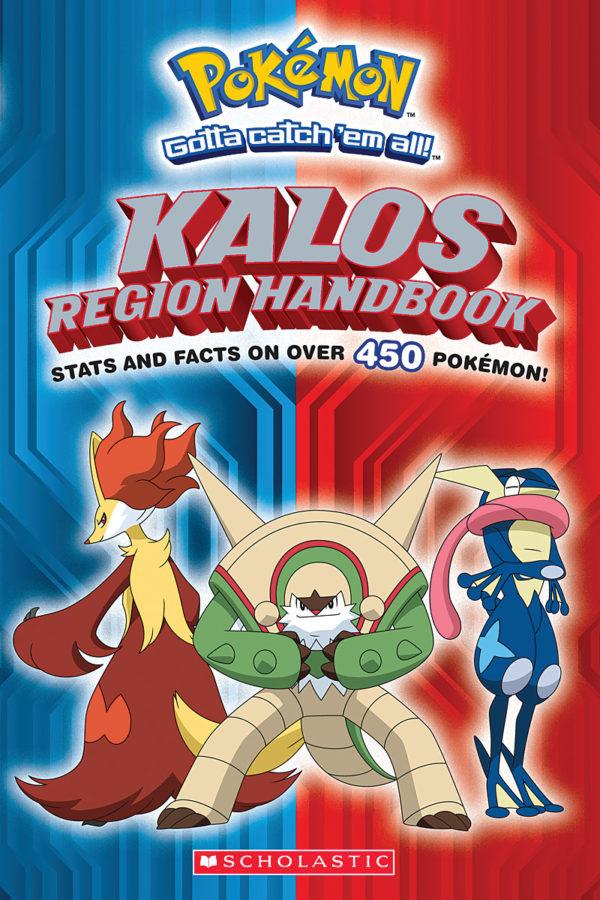 Scholastic - Pokémon: Kalos Region Handbook