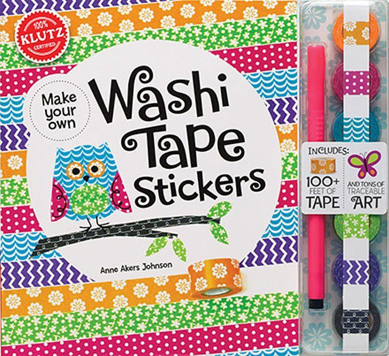 Editors of Klutz - Make Your Own Washi Tape Stickers