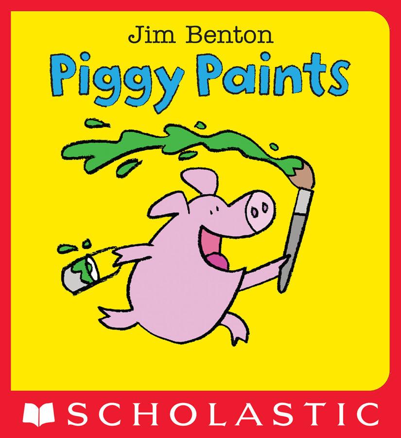 Jim Benton - Piggy Paints