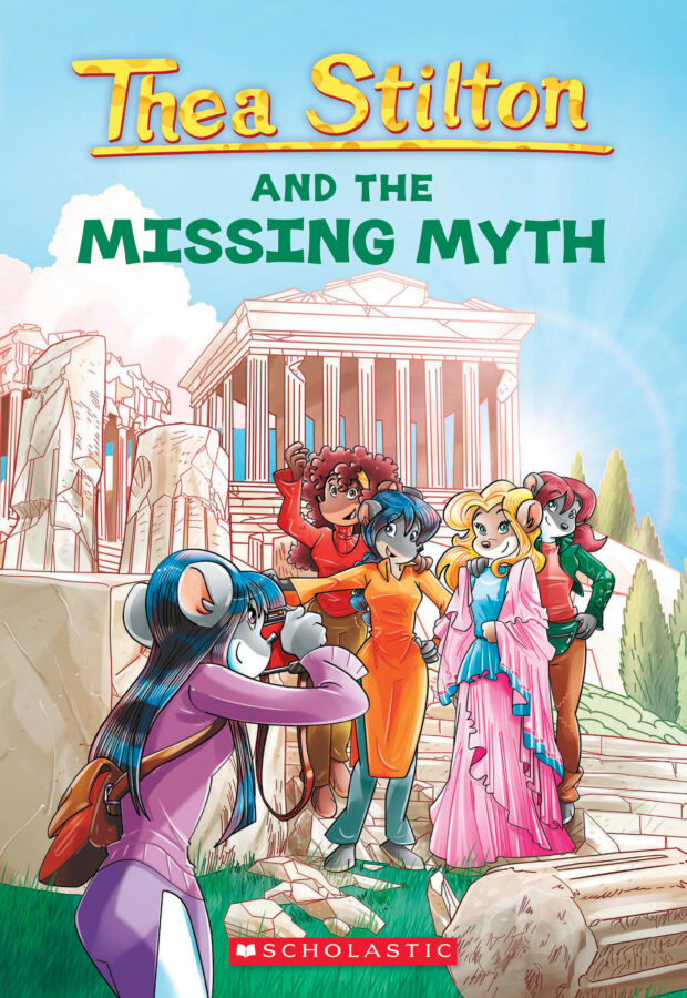 Thea Stilton - Thea Stilton #20: Thea Stilton and the Missing Myth
