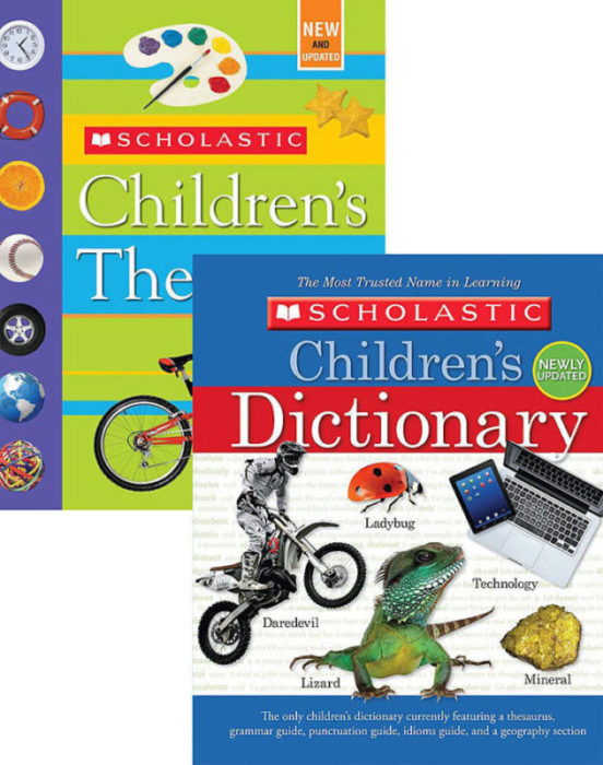 Scholastic Children's Dictionary and Thesaurus Pack (NEW)
