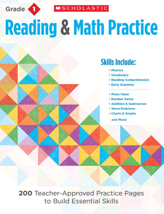 Reading & Math Practice: Grade 1 by Martin Lee