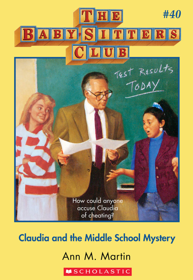 Ann M. Martin - Claudia and the Middle School Mystery