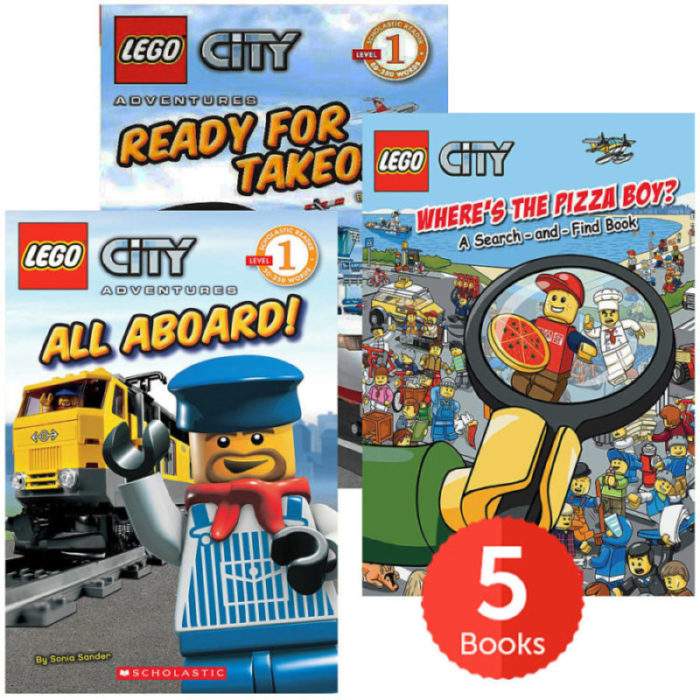 LEGO City Value Pack by - Paperback Book Collection - The