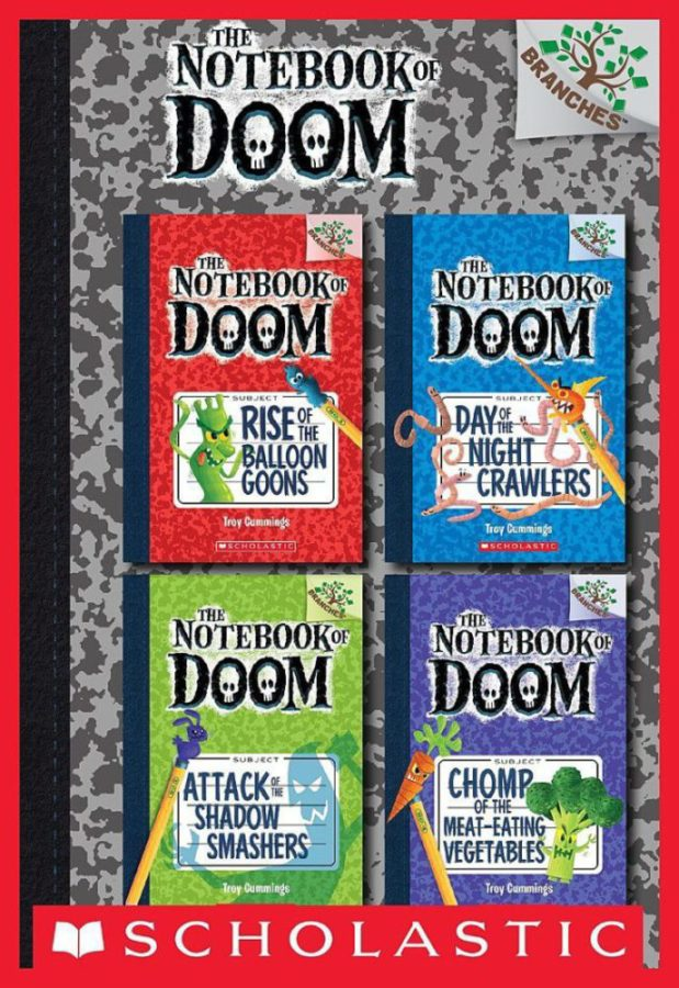 Troy Cummings - Notebook of Doom #1-4 Collection