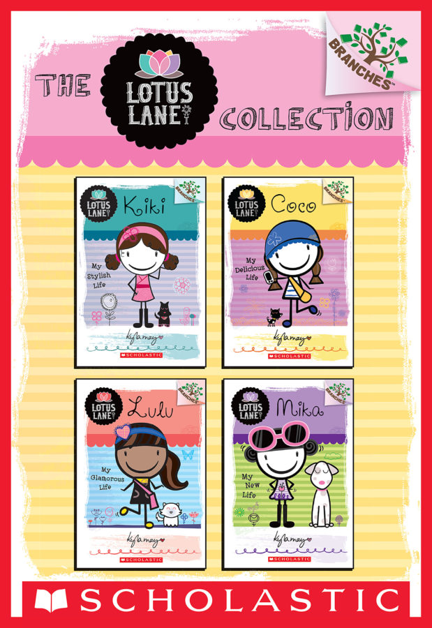 Kyla May - Lotus Lane Collection: Books 1-4