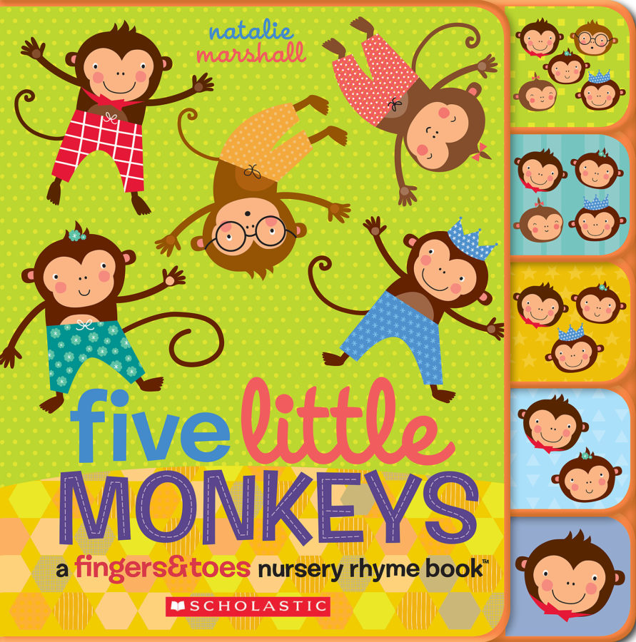 Natalie Marshall - Five Little Monkeys