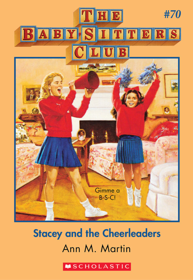 Ann M. Martin - Stacey and the Cheerleaders