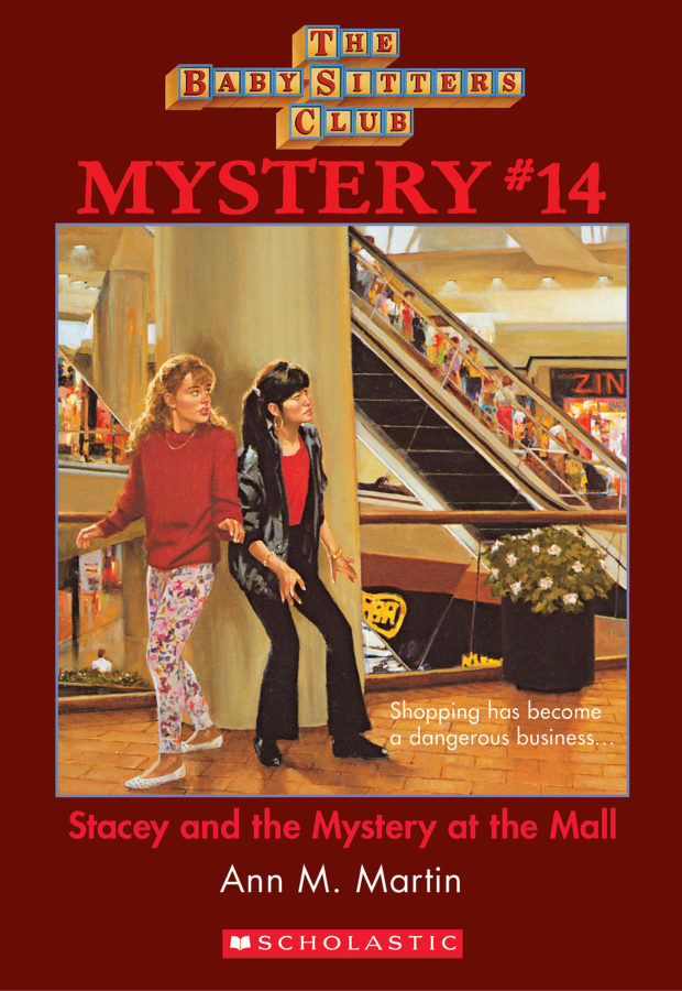 Ann M. Martin - Stacey and the Mystery at the Mall