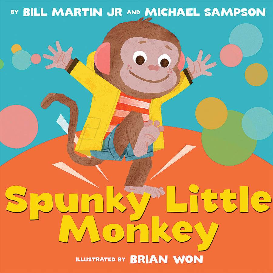 Bill Martin Jr. - Spunky Little Monkey