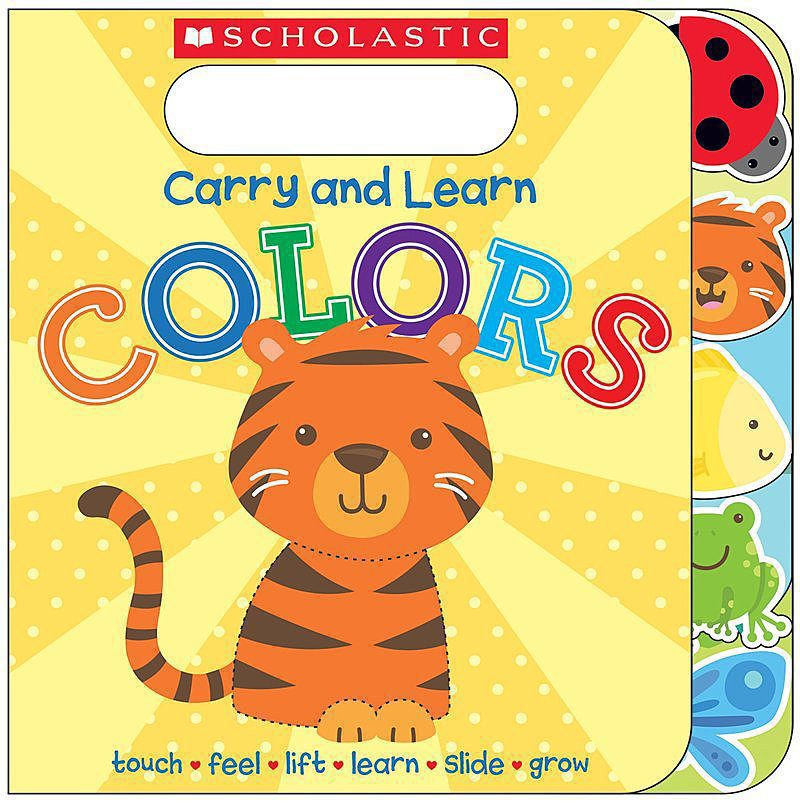 Scholastic - Carry and Learn Colors