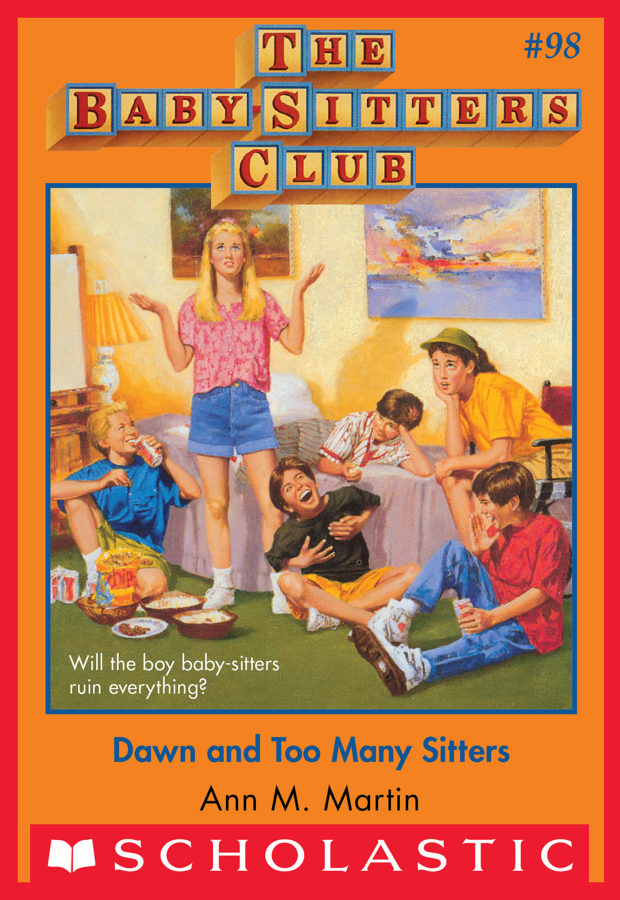 Ann M. Martin - Dawn and Too Many Sitters