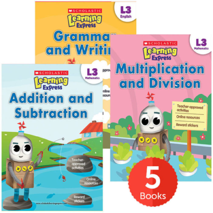 Scholastic Learning Express L3 Complete Set (Ages 8-9)