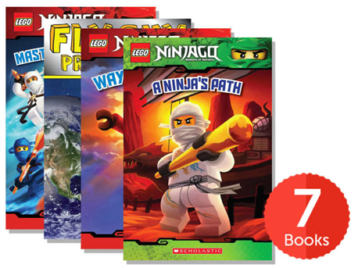LEGO Ninjago Reader Pack (Books 1-8) by - Paperback Book