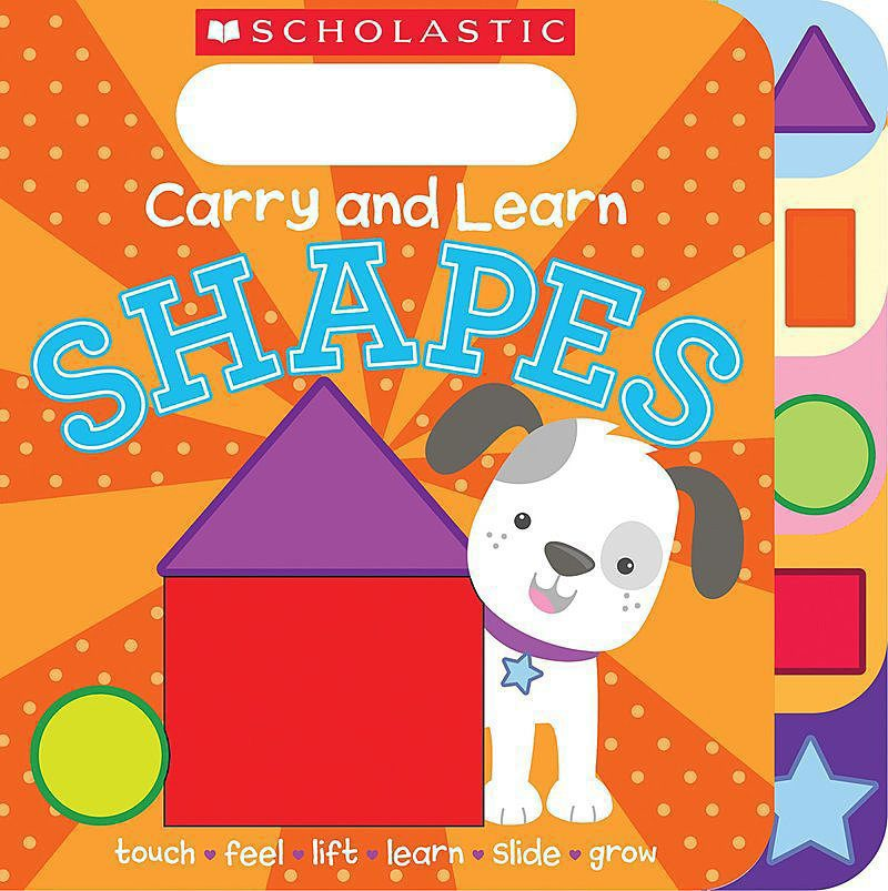 Scholastic - Carry and Learn Shapes