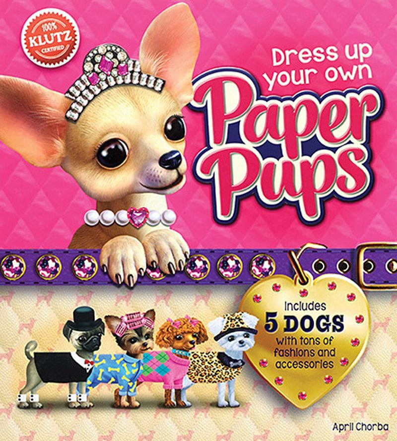 April Chorba - Dress Up Your Own Paper Pups