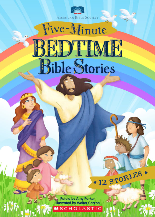 Amy Parker - Five-Minute Bedtime Bible Stories