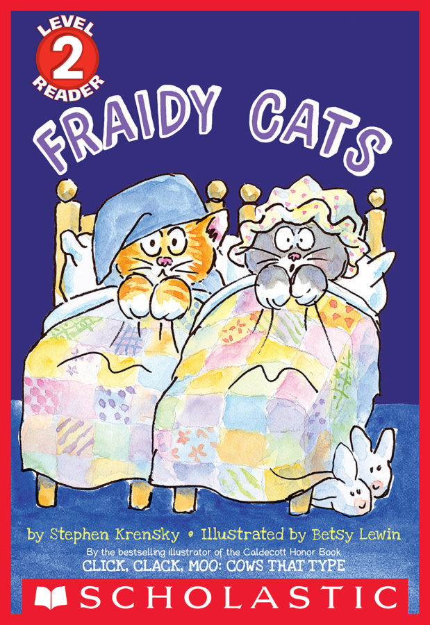 Stephen Krensky - Schol Rdr Lvl 2: Fraidy Cats