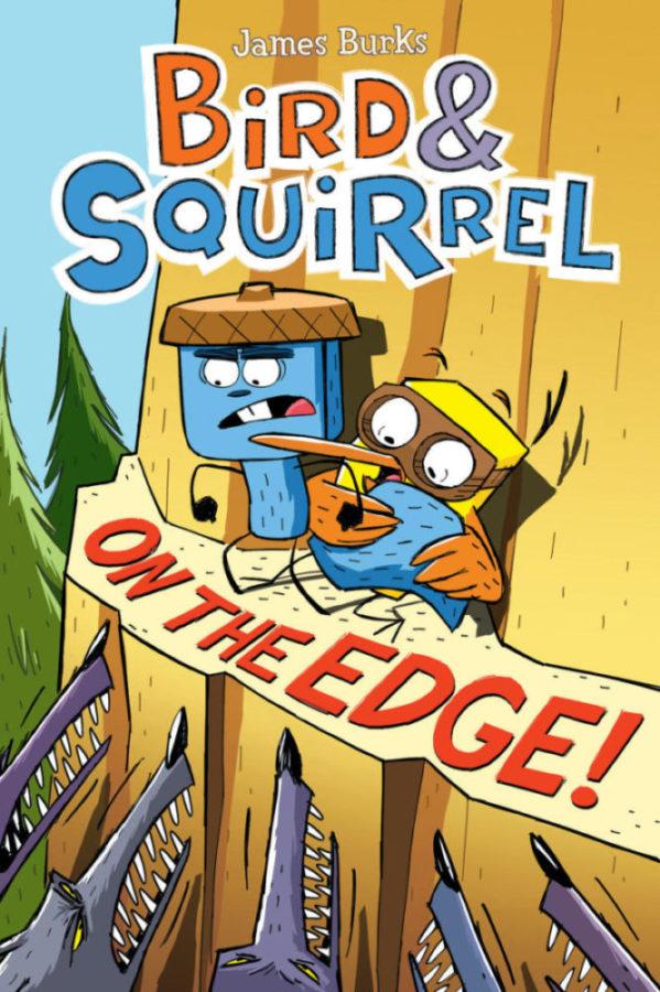 James Burks - Bird & Squirrel On the Edge!