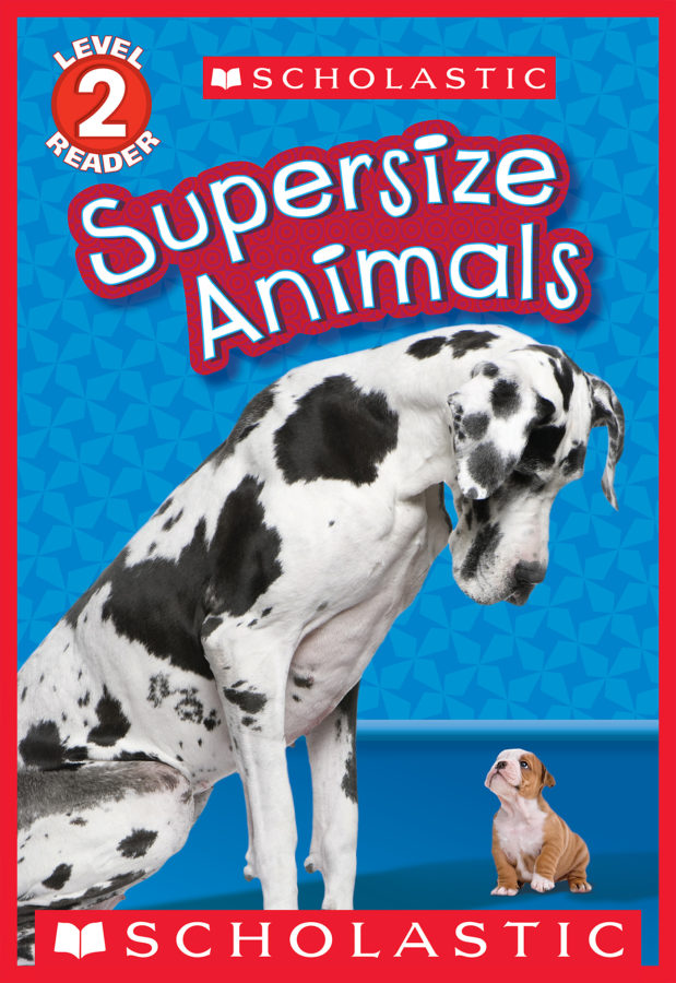 Gilda Berger - Schol Rdr Lvl 2: Supersize Animals