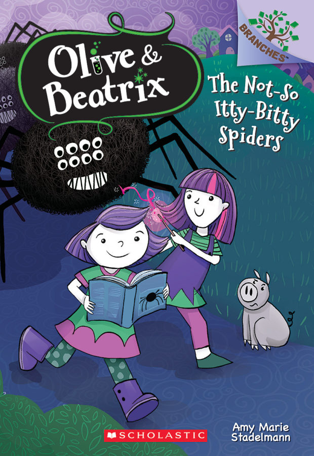Amy Marie Stadelmann - The Not-So Itty-Bitty Spiders