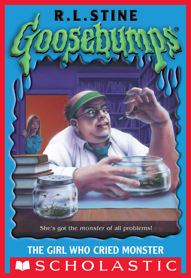 R. L. Stine - The Girl Who Cried Monster