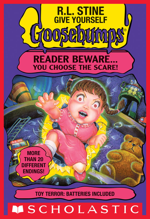 R. L. Stine - GYGB: Toy Terror: Batteries Included
