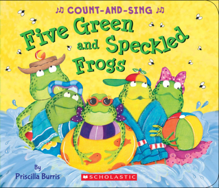 Priscilla Burris - Five Green and Speckled Frogs