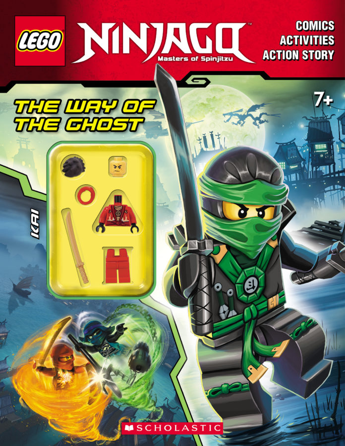 AMEET Studio - The Way of the Ghost Activity Book (with Minifigure)