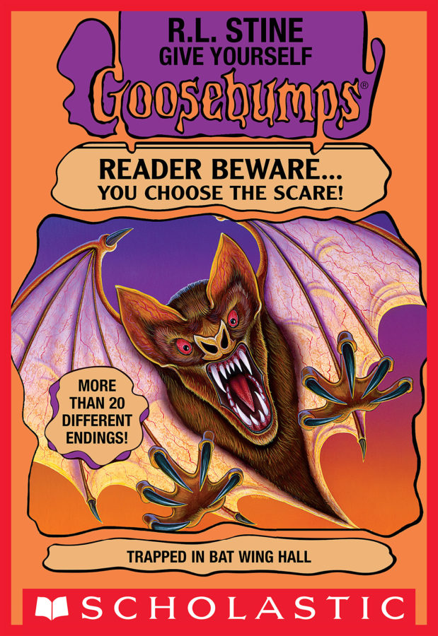 R. L. Stine - Trapped in Bat Wing Hall