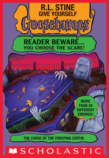 R. L. Stine - The Curse of the Creeping Coffin