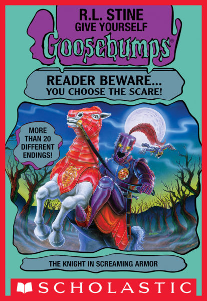 R. L. Stine - The Knight in Screaming Armor