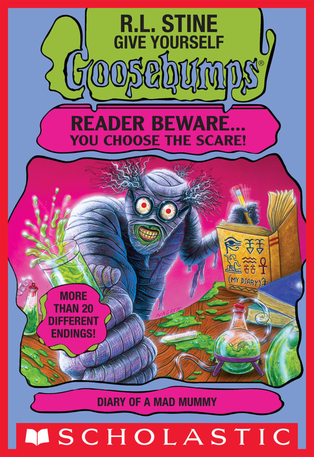 R. L. Stine - GYGB: Diary of A Mad Mummy