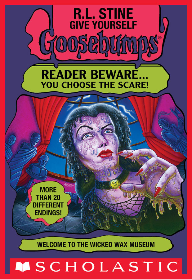 R. L. Stine - Welcome to the Wicked Wax Museum
