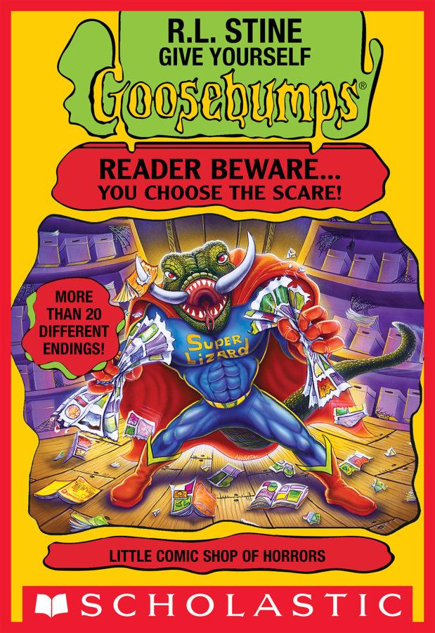 R. L. Stine - Little Comic Shop of Horrors