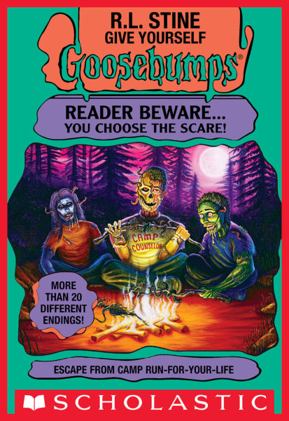 R. L. Stine - Escape from Camp Run-for-Your-Life