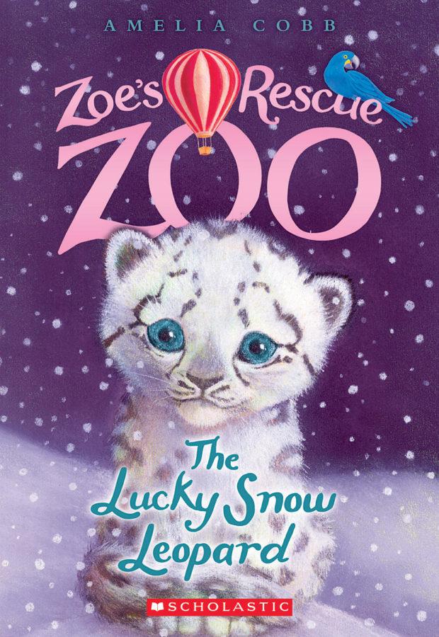 Amelia Cobb - The Lucky Snow Leopard