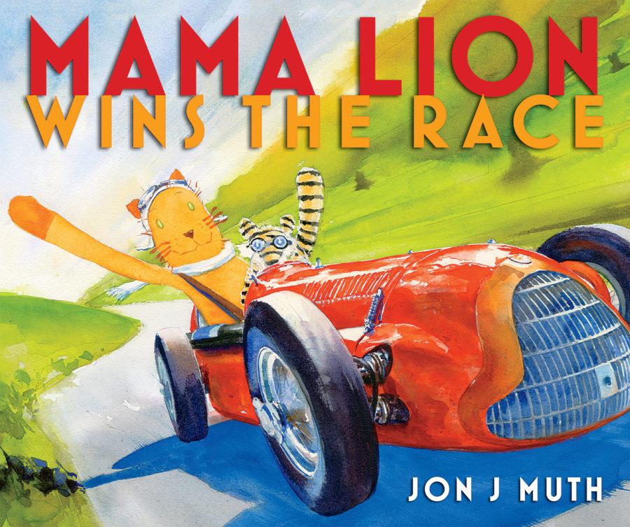 Jon J Muth - Mama Lion Wins the Race
